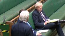 Moment Boris Johnson shuts down Tory lockdown sceptic who accuses government of 'pettifogging malice'