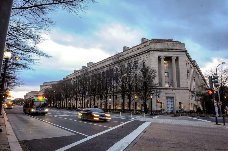 U.S. Justice Department backs lawsuit challenging Illinois coronavirus restrictions
