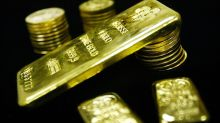 Gold up a fourth week in a row, but ends short of a 3-month high