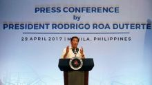 "Philippine leader says N. Korea's Kim ""wants to end the world"", urges U.S. restraint"