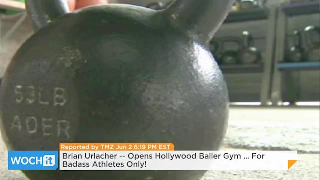 Brian Urlacher -- Opens Hollywood Baller Gym ... For Badass Athletes Only!