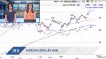 Morgan Stanley Breaks Out As Bank Stocks Rally