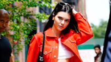 Kendall Jenner sports $1,300 red Canadian tuxedo: Shop the look for less
