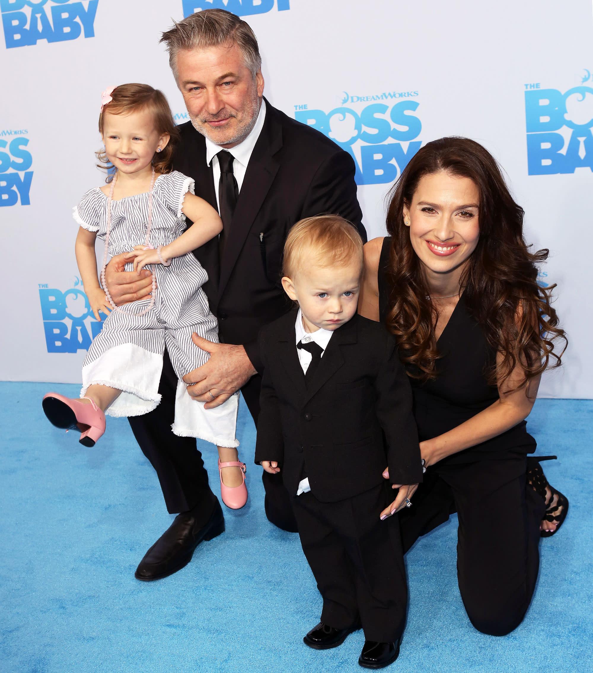 Alec Baldwin Has His Very Own Boss Baby: His Son, Rafael!