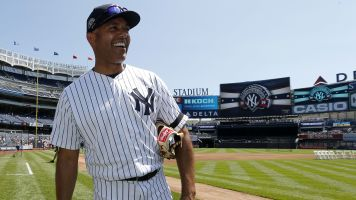 What is Rivera's place among Yankees' legends?