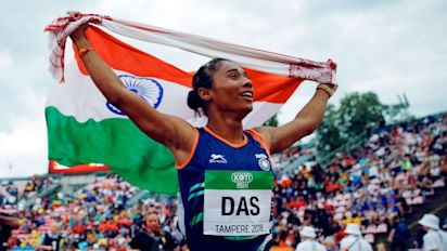 Hima Das Wins Fourth Gold in 15 Days, Anas Also Grabs Top Spot