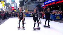 Dancers Perform Epic Hoverboard Routine to Justin Bieber's Hit