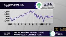 Amazon shares up after KeyBanc upgrade makes bullish calls unanimous
