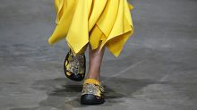 Ugly Crocs Are Back (Again) At Christopher Kane's London Fashion Week Show