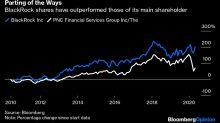 How Do You Shift $17 Billion of BlackRock Stock?