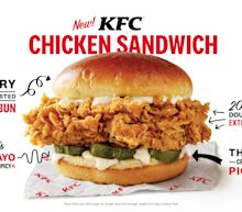 KFC looks to take on Popeyes in the chicken sandwich wars