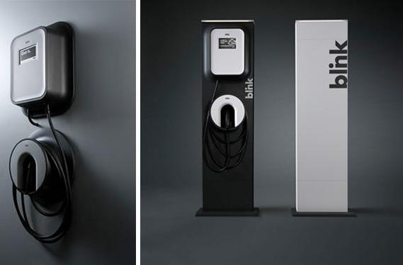ECOtality and Frog Design debut eye-catching Blink EV chargers