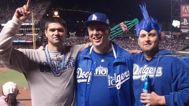 Slain fan's dad is Dodgers security guard