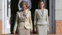 El tenso desencuentro entre Letizia y doña Sofía por una foto