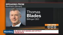 Bilfinger CEO Says Will Deliver on 2017 Aspirations