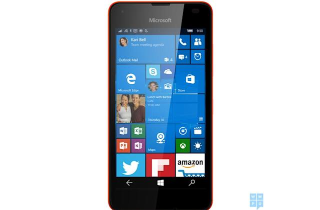 Lumia 550 leak hints at the future of low-cost Windows phones