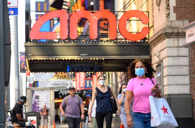 AMC plans to open two-thirds of its theaters by September 3rd