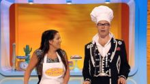 Watch Harry Hill hunt eels with EastEnders star