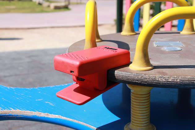 Hybrid Play: Convirtiendo los parques infantiles en videojuegos