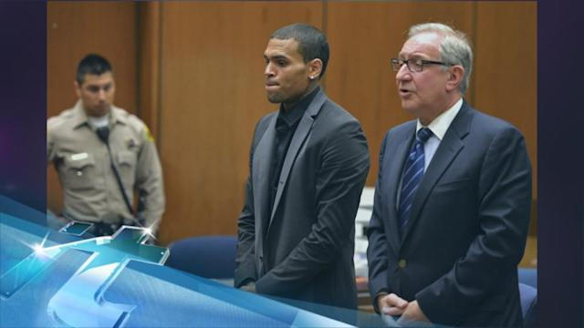 Chris Brown's rep cites stress for singer's ill health