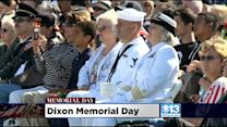 Memorial Day Ceremony Held At Sacramento Valley National Cemetery In Dixon