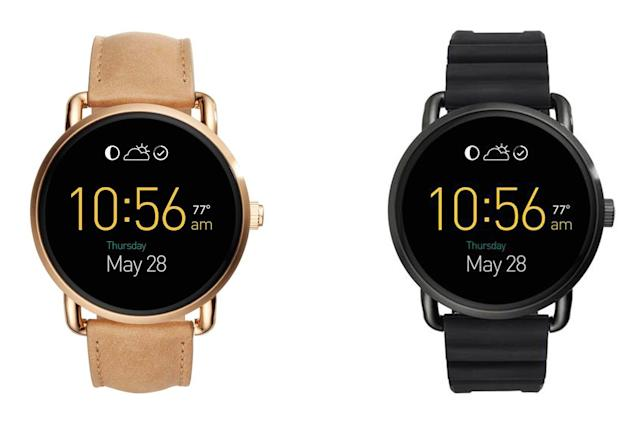 Fossil's smartwatches start receiving Android Wear 2.0