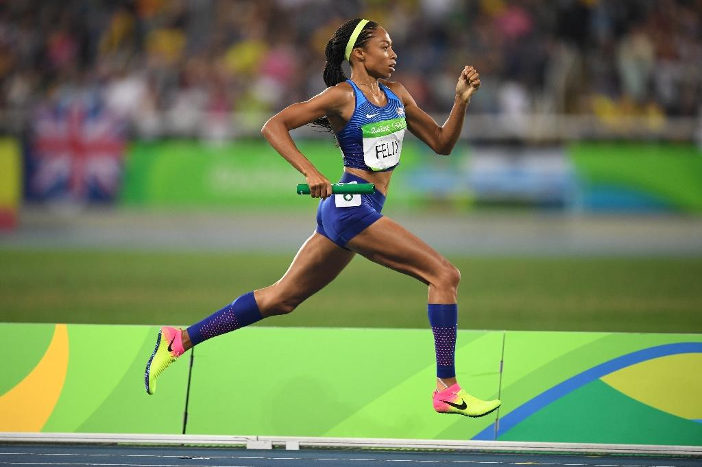 US track queen Felix targeting 2020 Olympics