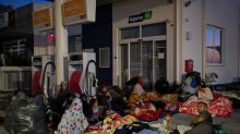 Moria migrants stuck on Lesbos island, locals oppose shelter plans
