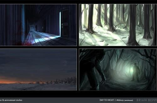 Canceled 'Day to Night' Midway game unearthed in concept art