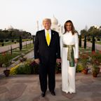 Trumps Start Two-Day Stay in India With Roaring Crowd at Cricket Stadium