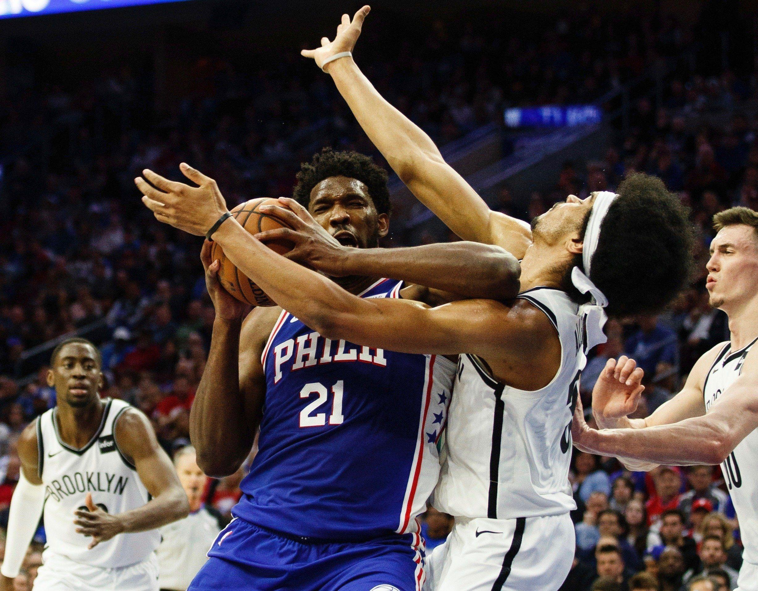 00ddf1d3ef7 Joel Embiid  extremely sorry  about Jarrett Allen elbow   I probably should  have been ejected
