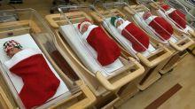 Las mejores decoraciones navideñas, ¡en hospitales!