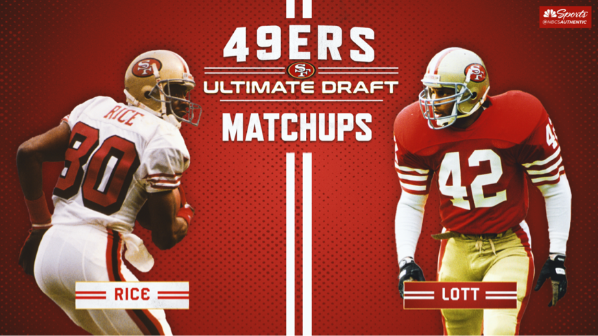 49ers Ultimate Draft matchups: Jerry Rice, Terrell Owens unstoppable duo
