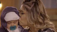 Marilia Mendonça se emociona com Léo em live por 5 anos de carreira
