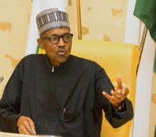 Nigeria's ill president sends recorded greetings from London