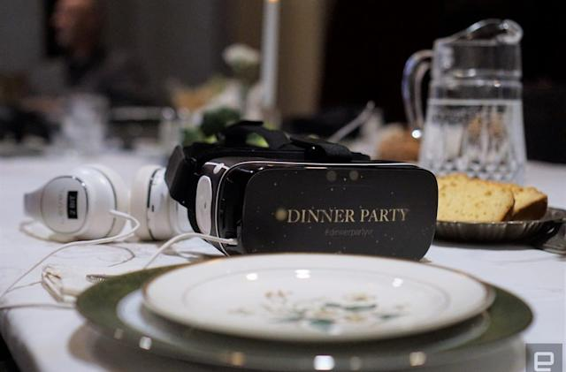 'Dinner Party' is a VR spin on the most famous alien abduction story