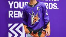 Old is new: Coyotes unveil purple 'Reverse Retro' alternate jerseys