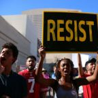 Trump unshackled: President defends Charlottesville response at raucous rally