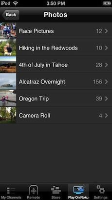 Roku update allows iOS app to stream content to its boxes