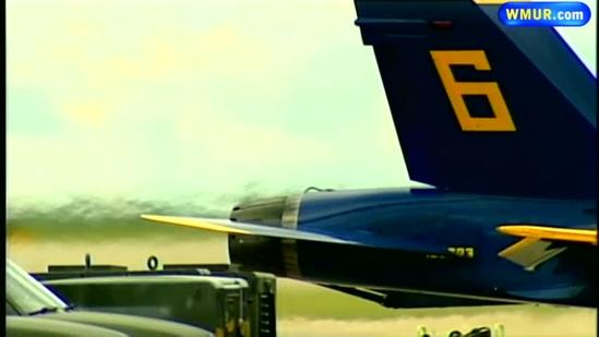 Blue Angels prepare for weekend air show