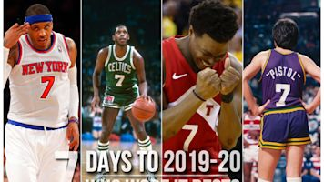 Countdown: Who was best No. 7 in NBA history?