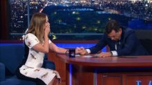 A 'Colbert' Report: Host Vomiting Defeats The Supreme Court