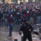 Protests turn violent in Lebanon