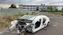 Police hunt 'car cannibals' who stripped £20,000 Mercedes-Benz of nearly all its parts