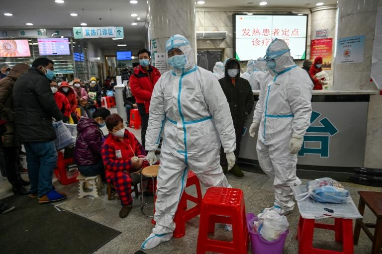 Hubei province in central China has been struggling to contain a virus outbreak