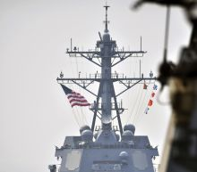 The Latest: US Navy conducting exercises with Japan, S.Korea