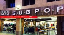 We Love This Shrine to Grunge Rock at the Seattle Airport