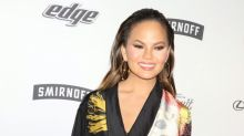 Chrissy Teigen shuts down mum-shamers before she's even been trolled