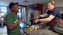 Seeing Conan Work At A Famous Soul Food Joint Will Tickle Your Ribs