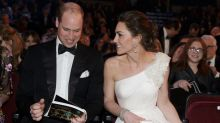 Why the room fell silent for Kate and William at the BAFTAs 2019